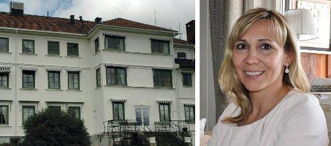 TILLITSVALGT: Anna Røken er tillitsvalgt for Fagforbundet på Blå Kors Eina. Innen få år skal Blå Kors flyttes fra Eina til Gjøvik.
