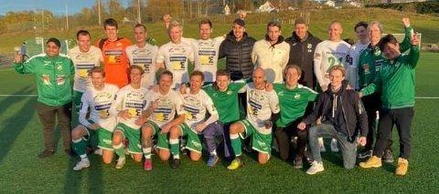 SERIEMESTERE: Vestfossen har vunnet 4. divisjon i Buskerud. Nå skal de spille kvalifisering for 3. divisjon.