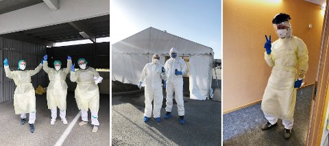 Luftvegslegevakta på Kleppetunet følger Folkehelseinstituttet sine retningslinjer for kven som skal testast for covid-19. Desse blir fortløpande oppdaterte.