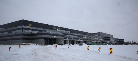 ÅPNER SNART: I mai åpner Europris den første delen av gigantlageret på Vanem i Moss.
