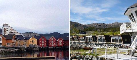 FORSKJELLER: I Namsos (til venstre) koster det 17.000 kroner i byggesaksgebyr å sette opp en enebolig. Tilsvarende gebyr på Leka er i underkant av 2.600 kroner.