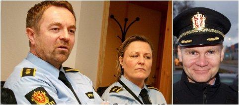 JOBBJAKTENDE TRIO: John-Kåre Granheim, Kathrine Grimnes og Ole Johan Skogmo er søkerne til lensmannsjobben i Midt-Troms.