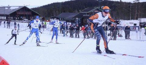 Sindre Østlien Evensen vant vinterens første skirenn på Natrudstilen.