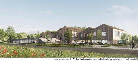 UTSATT: Åpningen av nye Åsgård skole kan bli utsatt med ett år.