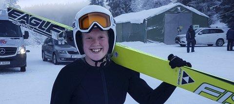 VURDERER FLYTTING: Oda Leiråmo satser på kombinert, men sliter med å få treningshoppe lokalt. Da hun debuerte i norgescupen hadde hun ikke ett hopp på snø på forsesongen.