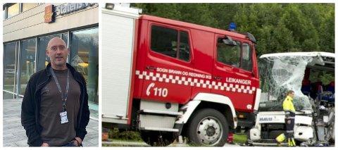 TUNGE TAK: Elleve personar har blitt drepne på riksvegnettet i Sogn dei siste ti åra. – Møteulukkene er framleis dominerande, seier Thorbjørn Thiem.