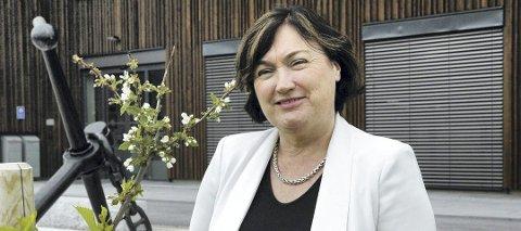 Averøy-ordfører Ingrid Rangønes.