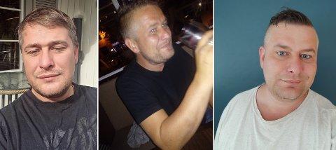 LEI AV LEVE SLIK: Bildet til venstre og i midten er fra perioden Truls Olsen (39) selv beskriver som den verste, med mye hard festing og bruk av ulovlige rusmidler. Bildet til høyre er tatt nå nylig etter at han ble rusfri.