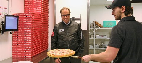 Espen Hoff, administrerande direktør i Peppes Pizza.