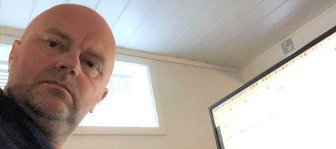 HJEMMEKONTOR: Nordlys har i likhet med alle andre i samfunnet ansatte som er i karantene eller hjemmeværende fordi situasjonen påkrever det.  Foto: Are  Medby