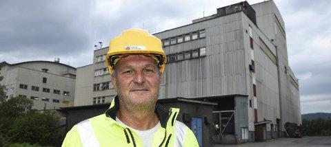 Administrerende direktør Gunnar Moe i Rana Gruber forteller om store og grønne planer. Foto: Arne Forbord