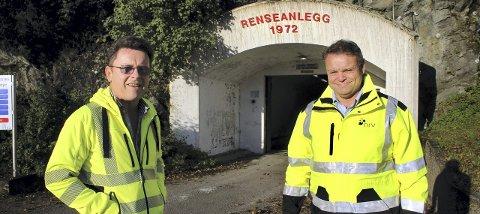 Ingeniørjakt: Prosjekt- og plansjef Gunnar Bjørnson og daglig leder Thomes Trømborg i NRV/NRA ser til oljebransjen. foto: Lars P. Hallingstorpt