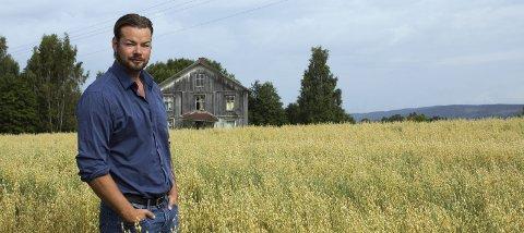 Debuterer i «Åndenes makt»: Denne sesongen er Michael Winger med som klarsynt. Programmet vises på TV Norge i september.Foto; Stine Løkstad