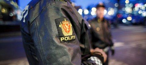 Politiet fant to vitner og en bil «parkert» delvis ute på et jorde. (Illustrasjonsfoto)