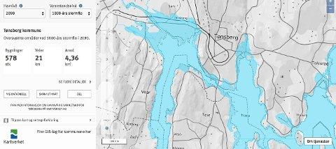 Tønsberg 2090 Statens Kartverk