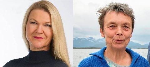 Tove Henøen (t.v.) og Kristin Sørheim. (Foto: Privat/Arkiv)