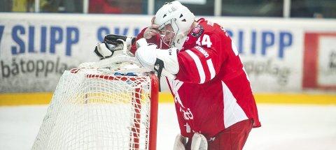 UFF DA: Brady Hjelle fortviler etter torsdagens match mot Sparta. Foto: JOHHNY LEO JOHANSEN