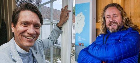 Bjørn Halstensen og Alexander Hermansen forteller at det ikke er enkelt å drive for seg selv mens koronaviruset herjer.