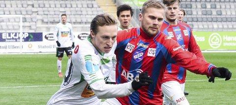 HBK: Andreas Skattum Nordby er tilbake i HBK-trøya etter to måneder i Lørenskog.