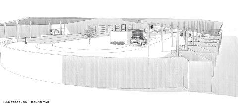 NYTT ANLEGG: det nye avfallsanlegget i Borgaredalen skal etter planen stå ferdig i 2023.