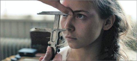 Bilde av hovedrolleinnehaver Lene Cecilia Sparrok i filmen Sameblod.