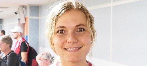 LUKTET PÅ MEDALJE: Katrine Aannestad Lund var på tredjeplass etter liggendeskytingen i kvalifiseringen i VM i helmatch på 50 meter i Sør-Korea, men ble til slutt nummer 12. (FOTO: NSF)