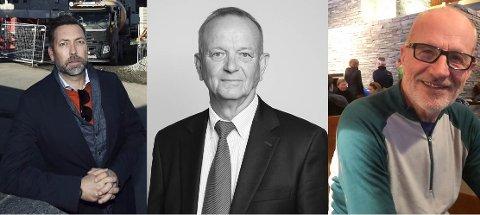Eier Lillestrømbanken: Stig Valskaar (t.v.), Morten Huser og Bjørn Svindal.