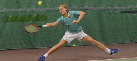 BEST: Fredrik Øyan Moe var best av alle på sin gamle hjemmebane, og gikk til topps i A-klassen.