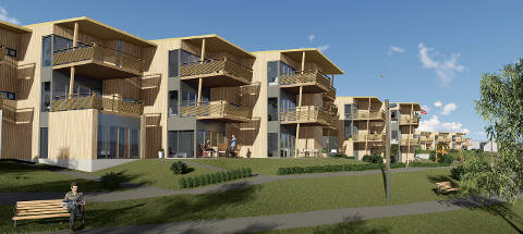 Utbyggerne har solgt boliger for over 300 millioner kroner på Vikenstranda allerede før siste salgstrinn legges ut.