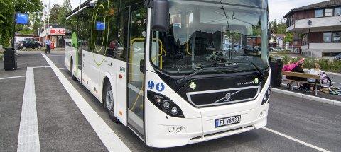 GEBYR: Uten belte i buss? Det koster deg 1500 kroner.Foto: Ole Johan Storsve