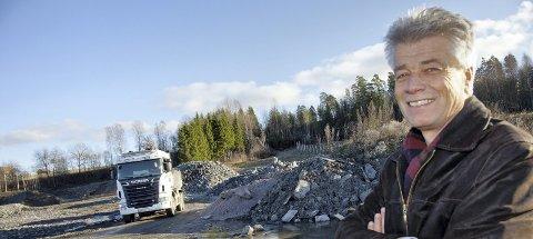 FORNØYD: Ola Mæhlum, er fornøyd med utviklingen på Røyken Næringspark. Arkivfoto: Henning Jønholdt