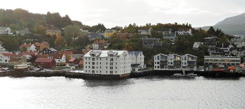 Thon hotel er en sentral del av sjøfronten mot indre havn på Innlandet.