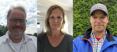 VINNERE: TB-journalistene Arne Lysne, Lena Malnes og Sindre Øen stakk alle av med hver sin journalistpris i årets kåring.