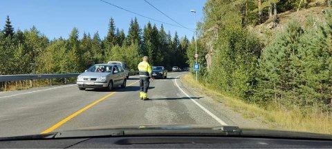 Ulykke på Gjerstadveien.