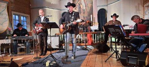 TRADISJON: En konsert med Nashville Sound i forbindelse med Sauesjået har blitt en tradisjon.