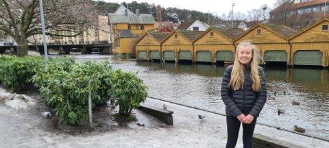 NY JUNIORRÅDGIVAR: Lea Åse-Melhus har blitt utnemnd til juniorrådgivar i Ungdommens Rettferdigheitsorgan, plan internasjonal Norge sin ungdomsorganisasjon.