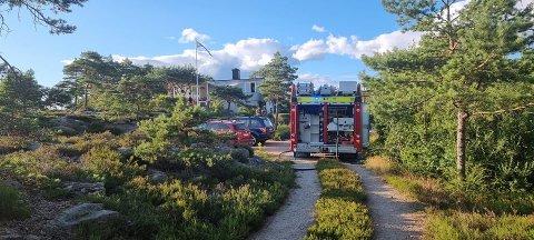 Brannvesenet rykket ut til brann på Gressvik