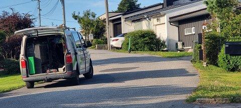 STRØMLØS: Ifølge Andreas Utberg fra Utrykningsnytt, har Nettpartner ankommet stedet med flere biler.