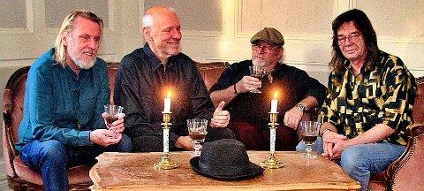 KVARTETT:  Harald Hougaard, Ole Kristian Pettersen, Ørjan Arntsen og Geir Knutsen er The Cohens. Du kan se og høre dem både lørdag og søndag.