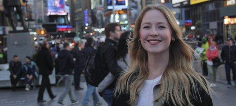 MÅ STÅ UT I MENGDEN: Ingeborg Knøsen fra Våler har beveget seg inn i en tøff bransje. Nå gjelder det å skille seg ut i mengden for 23-åringen.