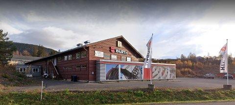 Butikken på Lillehammer er midlertidig stengt inntil en smittesituasjon blir avklart.