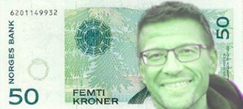 GRØNN MANGEMILLIONÆR; 5.630.944 kroner er Ørjan Ingebrigt Jensens formue på 2015-ligningen. Mannen er siviløkonom av yrke, og har dermed greie på penger. Han er MDGs toppkandidat fra Finnmark ved stortingsvalget.