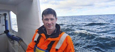 Drømmen: Stephan Solhaug (25) drømte som liten gutt om å overta båten til faren - nå er drømmen gått i oppfyllelse. Foto: privat