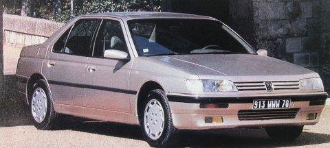 Peugeot 605 var en glimrende partner på langtur.