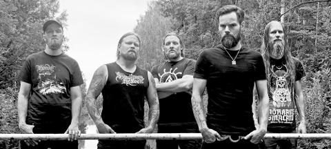 NETTKONSERT: Svenske Pantokrator blir å høre live på nettversjonen av metallfestivalen Nordic Fest.