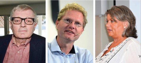 STØTTER PELSDYRBØNDENE: Oluf Maurud (KrF), Tor Andre Johnsen (Frp) og Anita Ihle Steen (Ap) støtter alle pelsdyrbøndenes krav om full erstatningen når næringen tvangsavvikles.