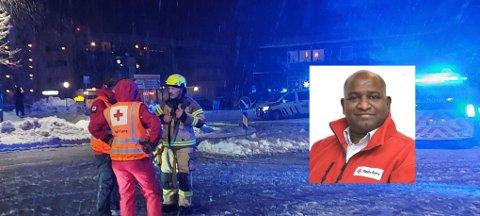 ETTERSAMTALER: På Olavsgaard har Røde Kors gratis samtaler med berørte av skredet.
