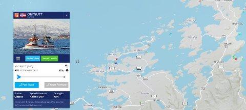 Sjarken «Øygutt» har kantret utenfor Averøy.