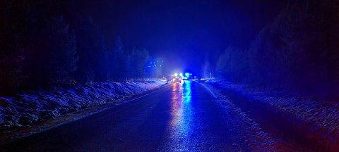 Alle nødetatene rykket ut til ulykken i Gjemnes.