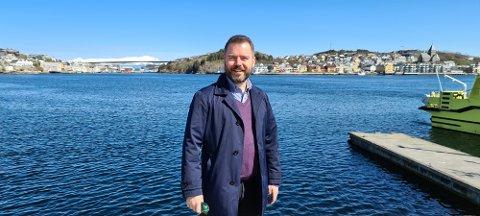 Roland Mauseth er prosjektleder for Campus Kristiansund.